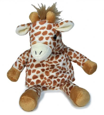 Cloud B Giraffe Soothing Sleep Puppet with heating and cooling pack